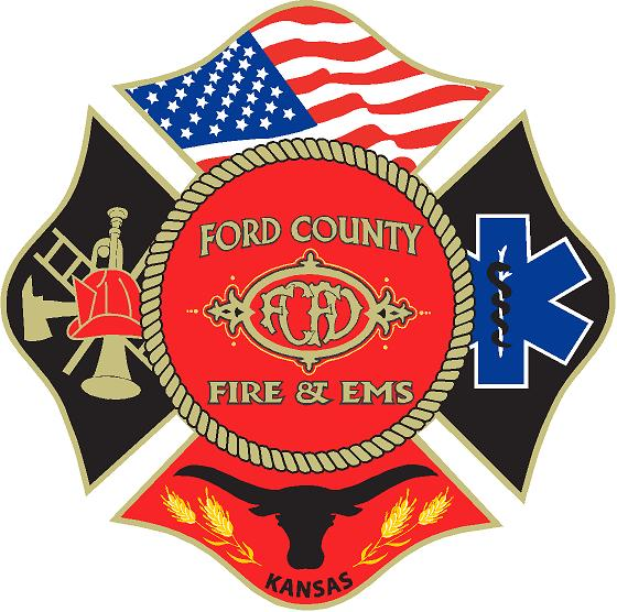 Ford County Fire Department Logo