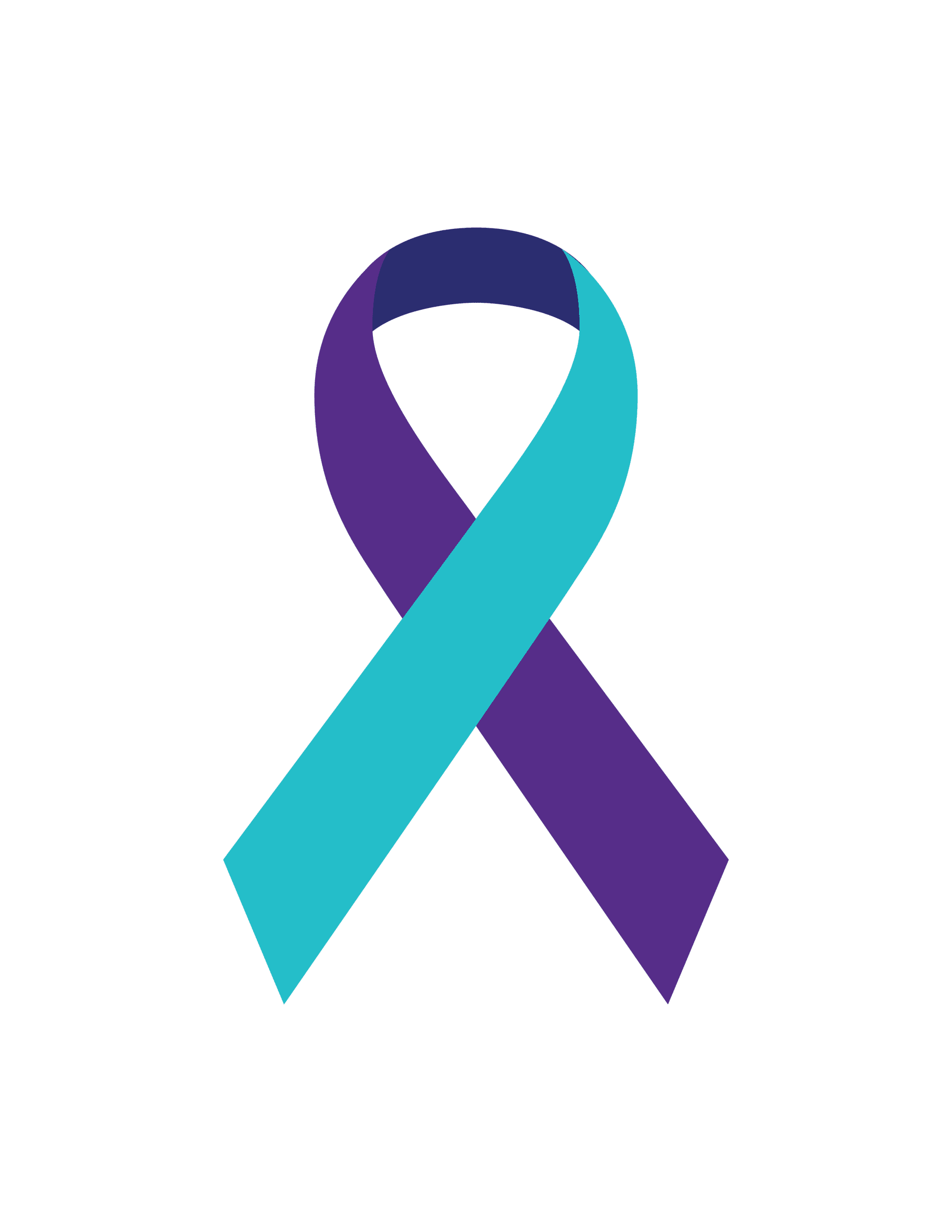 Suicide Prevention Ribbon