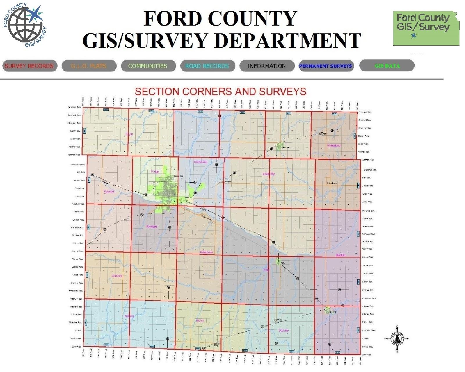 Ford County Map