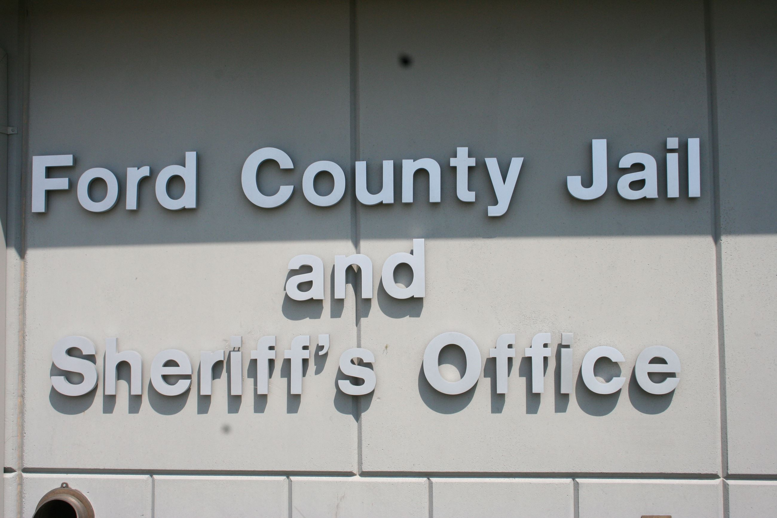 Ford County Jail and Sheriff Office Sign